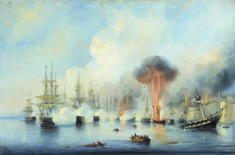 Алексей Боголюбов. Синопский бой 18 ноября 1853 года