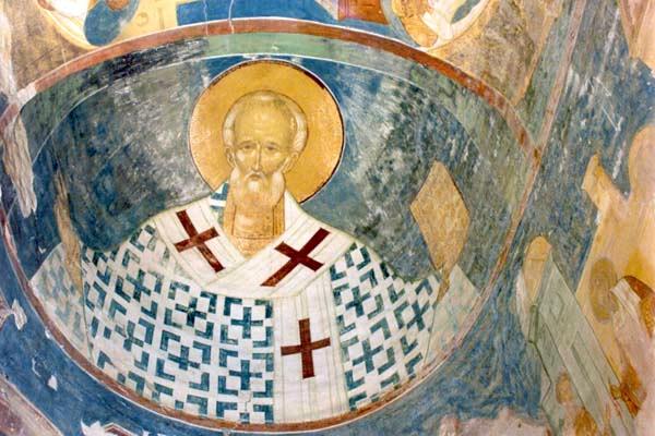 Фреска собора Ферапонтова монастыря в Вологодской области