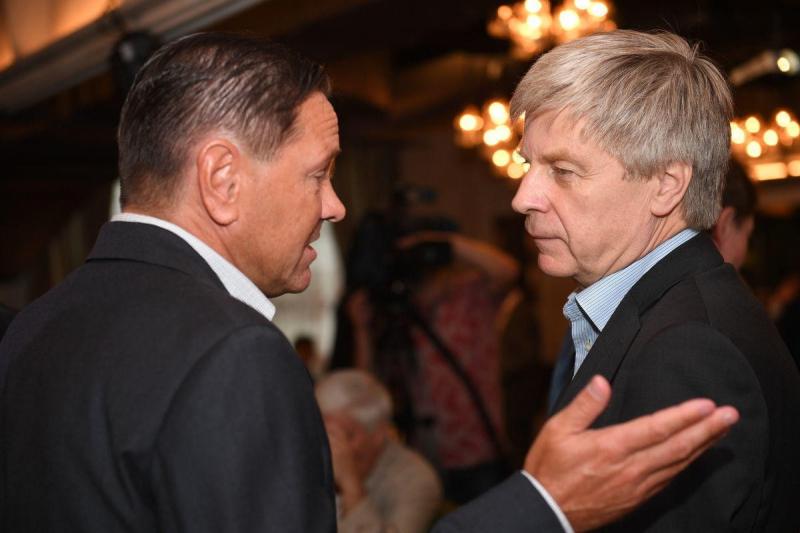 Дмитрий Аленичев и Николай Толстых