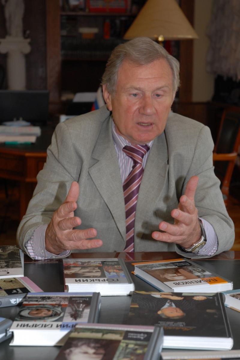 """Валентин Юркин: «В нас сохранился """"ген масштабности"""" и жажда просветительства»."""