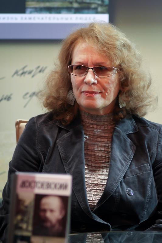 На презентации биографии Достоевского на Московской международной книжной выставке-ярмарке