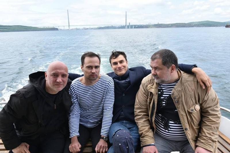 Захар Прилепин,Василий Авченко, Сергй Шаргунов, Сергей Лукьяненко