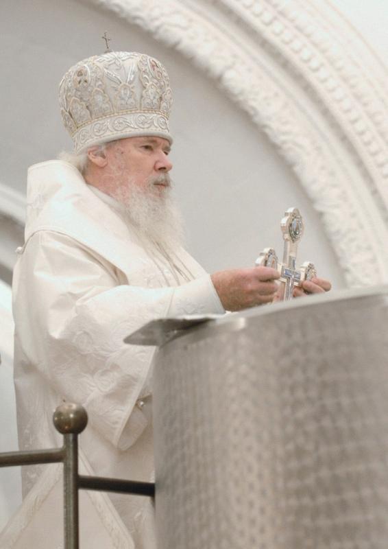Патриарх Алексий II (в миру — Алексей Михайлович Ридигер; 1929—2008)