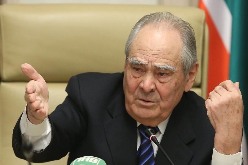 Первый президент Татарстана, а ныне государственный советник республики Минтимер Шаймиев