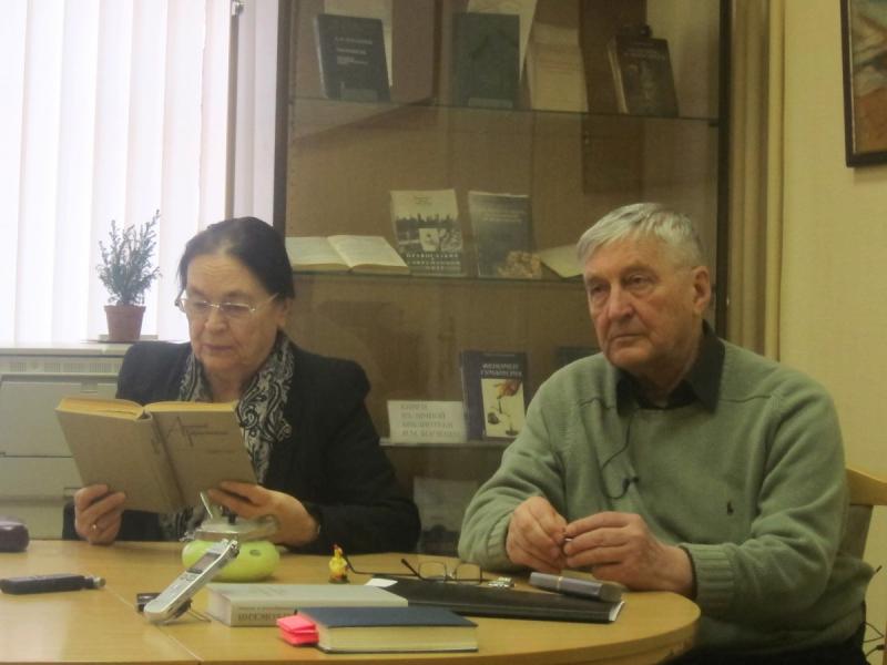 Виктор Филимонов в Музее-библиотеке Н. Ф. Федорова