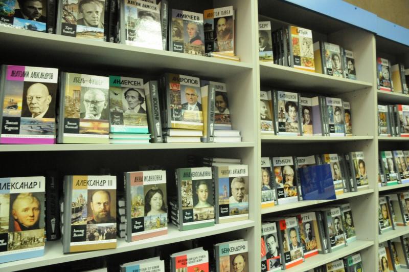 В магазине издательства «Молодая гвардия» собраны книги «ЖЗЛ» всех последних лет