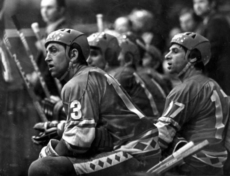 1978 год. Борис Михайлов и Валерий Харламов. Фотография Анатолия Бочинина