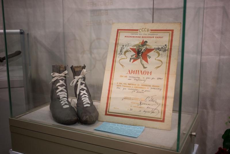 В музее РГУФКСМиТ открыли выставку об истории самбо