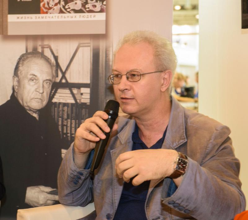 Павел Фокин на презентации биографии Александра Зиновьева на ММКВЯ