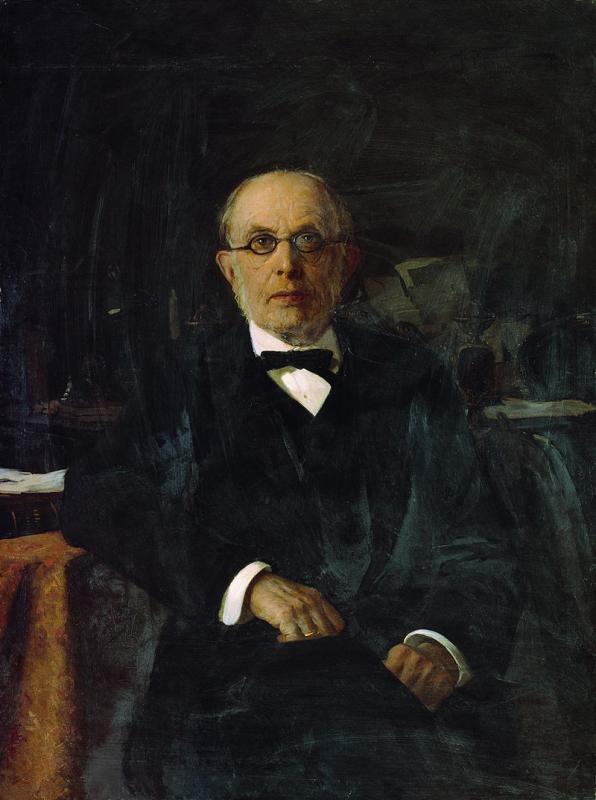 Победоносцев. Портрет работы А. В. Маковского (1899)