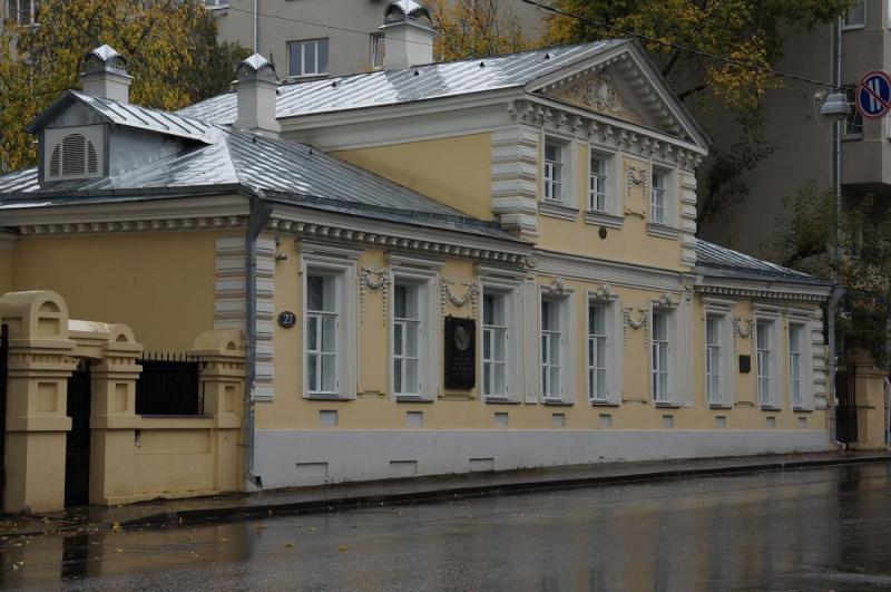 Анна Сергеева-Клятис в Музее Герцена