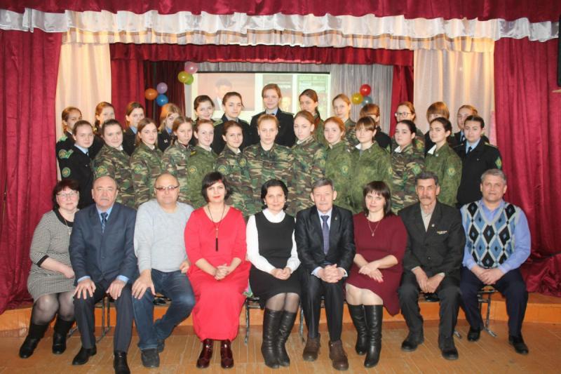 С кадетами Губернаторской Куртамышской кадетской школы-интерната