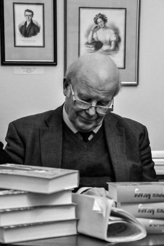 Профессор Сергей Некрасов: «Книга о Белле Ахмадулиной необыкновенно интересна». Фото Светланы Кожары
