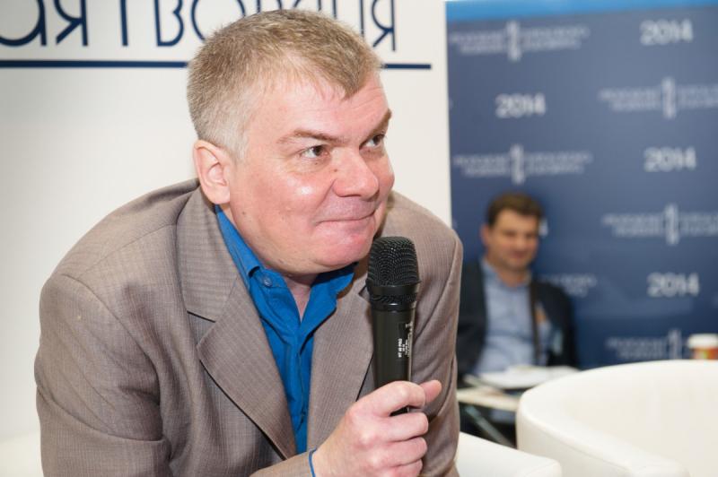 Владимир Галедин на Московской международной книжной выставке-ярмарке