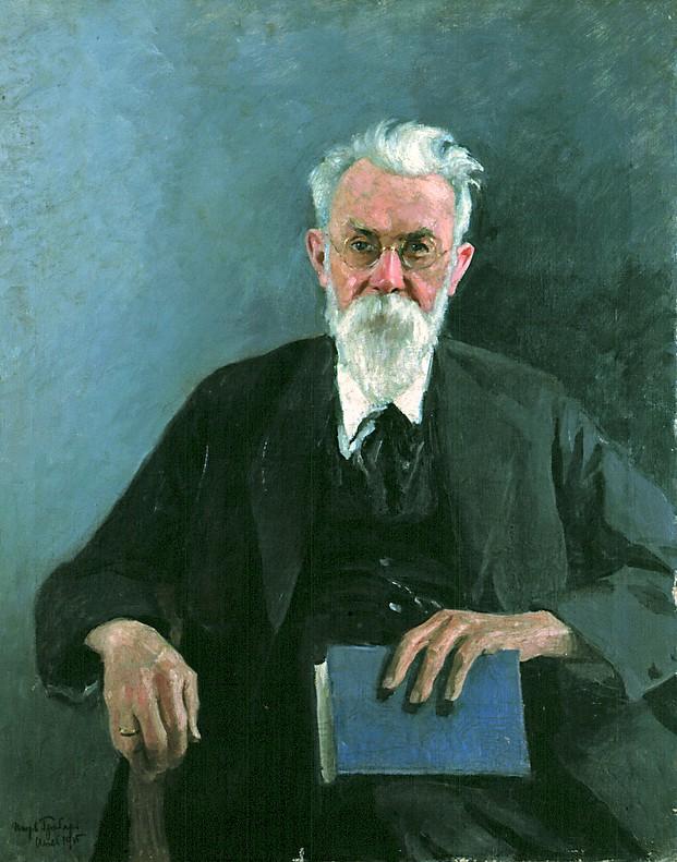 И. Грабарь. Портрет Владимира Ивановича Вернадского. 1935