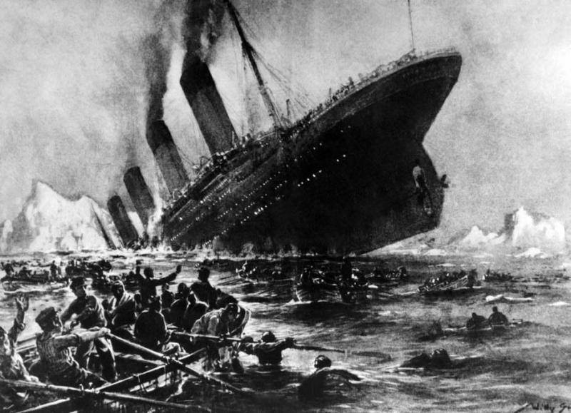 Когда Грэму было семь лет, ему приснилось кораблекрушение (человек в клеенчатом плаще согнулся в три погибели под ударом гигантской волны) – и в эту самую ночь затонул «Титаник»...