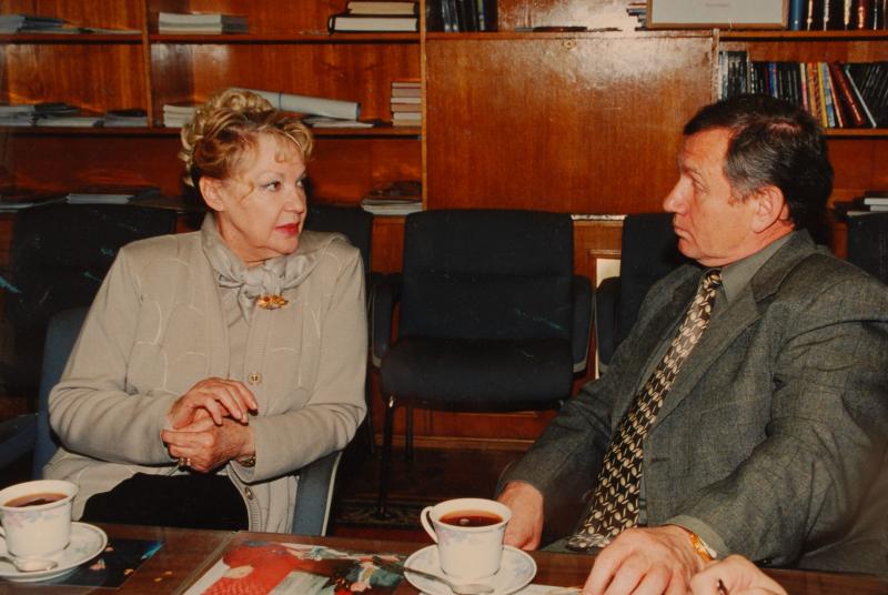 С Ириной Скобцевой