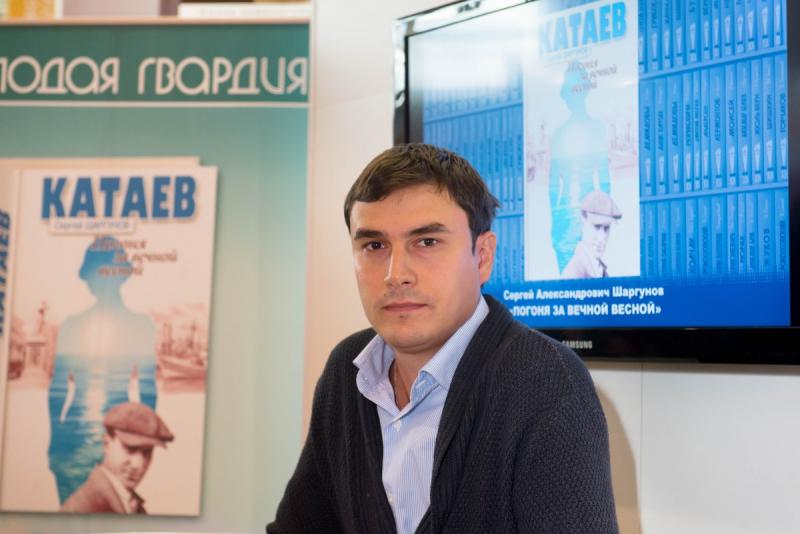 Сергей Шаргунов в Архангельском