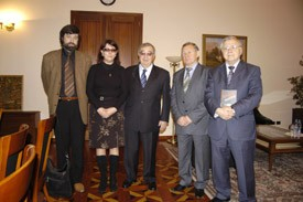 В гостях у Евгения Примакова с новинкой
