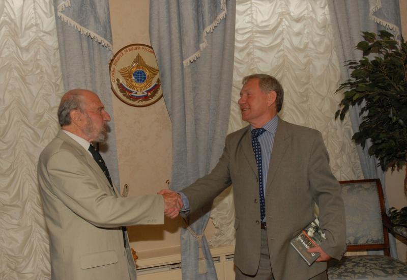 Джордж Блейк и генеральный директор АО