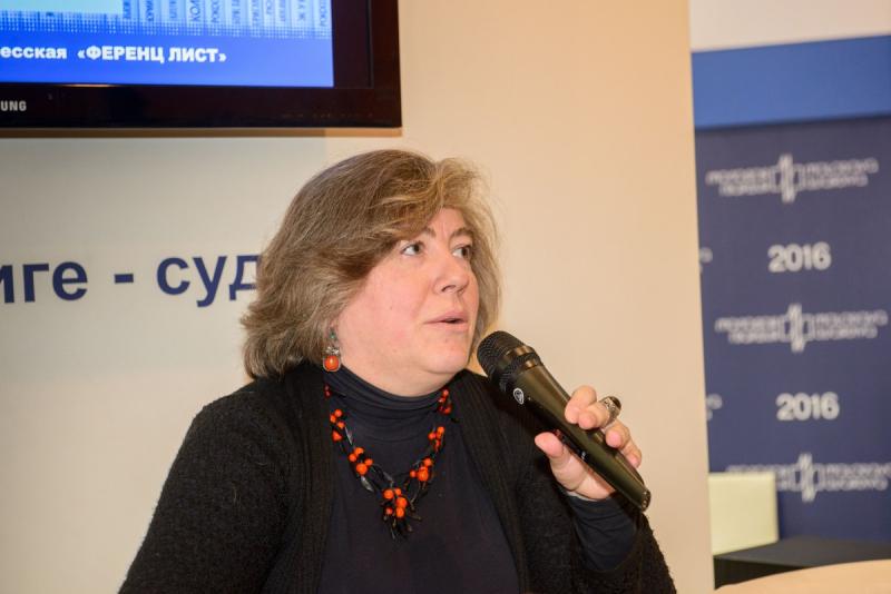 Мария Залесская на Московской международной книжной выставке-ярмарке