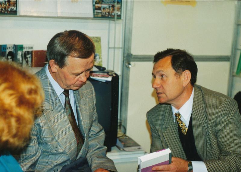 С Валентином Григорьевичем Распутиным