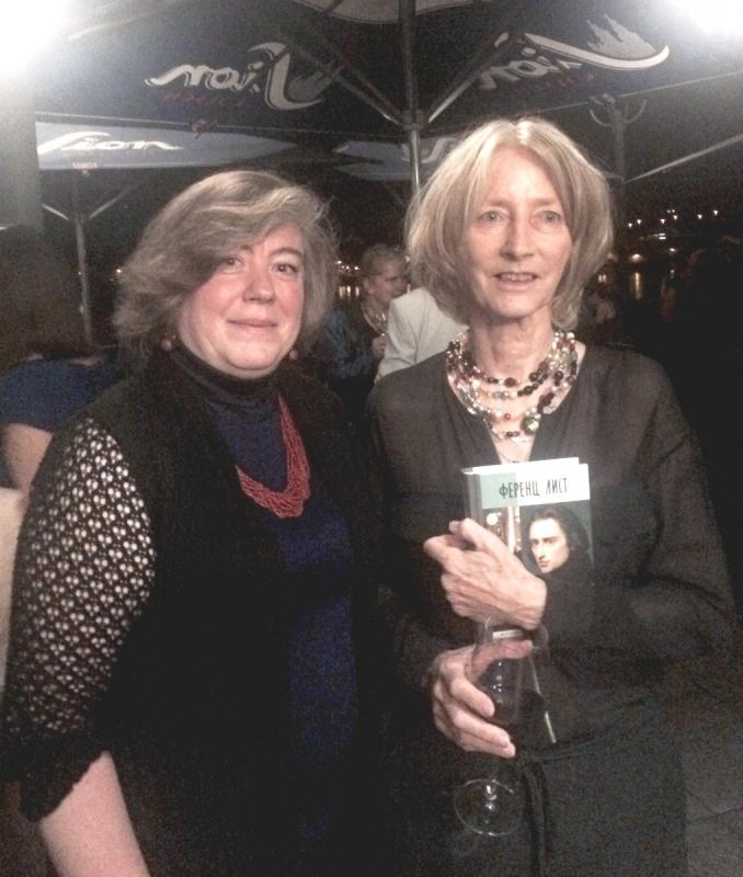 Мария Залесская (слева) и праправнучка Ференца Листа Ника Вагнер