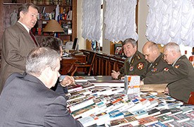Встреча генерального директора ОАО «Молодая гвардия» с руководством МВД РФ