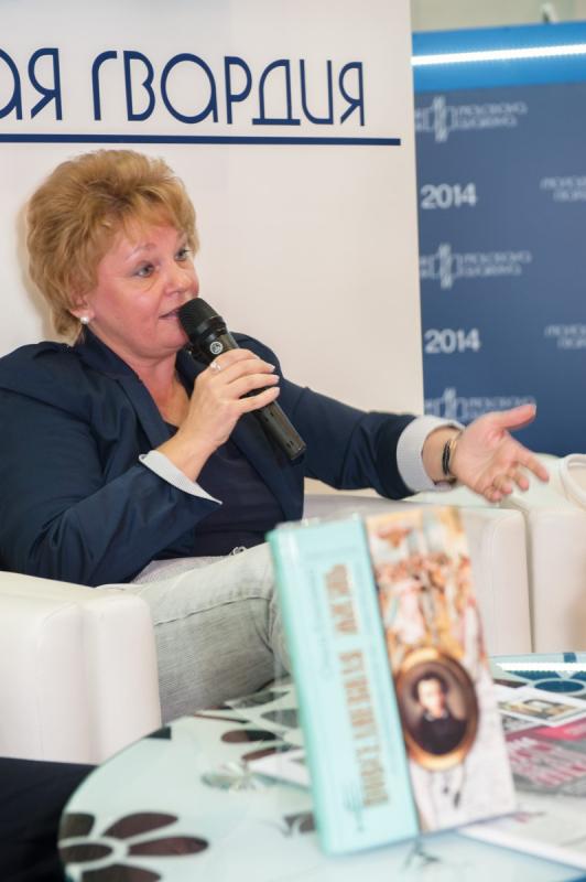 11 февраля отметила юбилей постоянный автор «Молодой гвардии», известный специалист по истории России XVIII века Ольга Игоревна Елисеева
