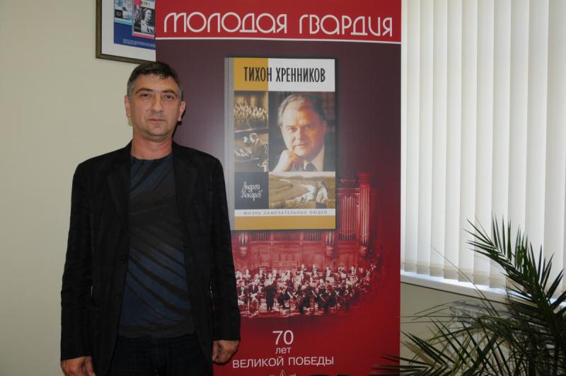 """Андрей Кокарев: «""""ЖЗЛ"""" – это багаж, который мы берем с собой в будущее»"""