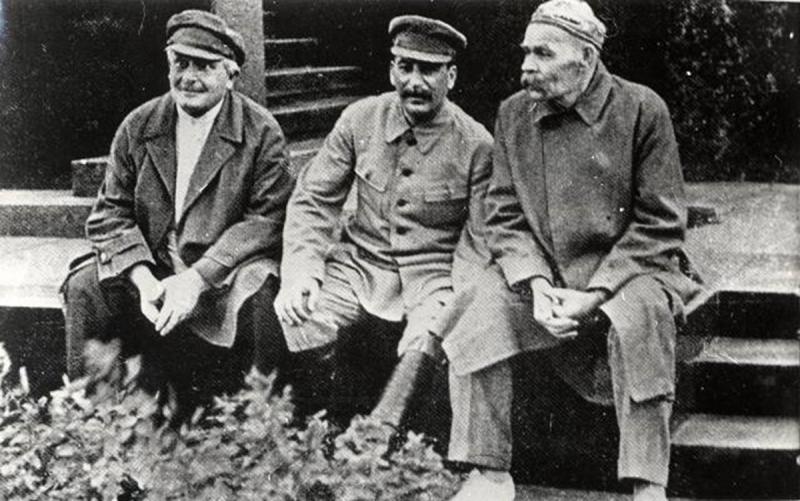 Максим Горький. Литература и политика