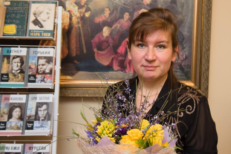 Екатерина Колодочкина – дипломант премии «Александр Невский»