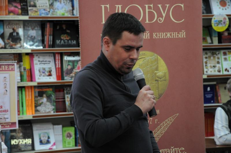 Журналист, политик Андрей Балканский презентовал свою книгу «Эдуард Лимонов»