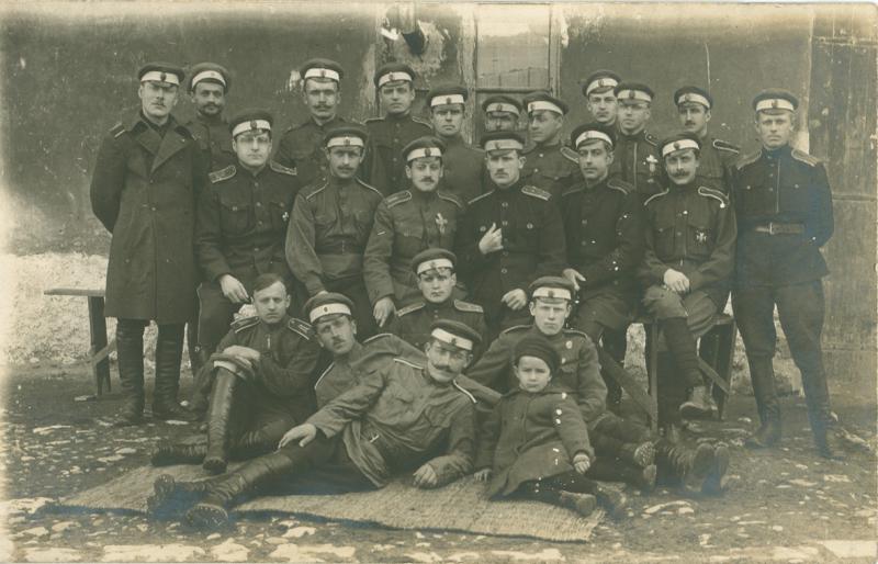 Офицеры Дроздовского полка в эмиграции