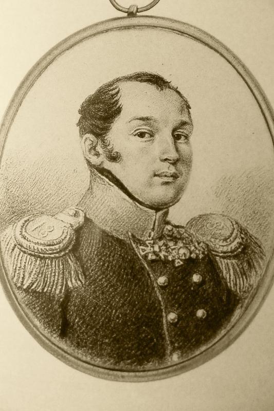 Павел Иванович Пестель (1793—1826) (предполагаемый портрет 1824 года)