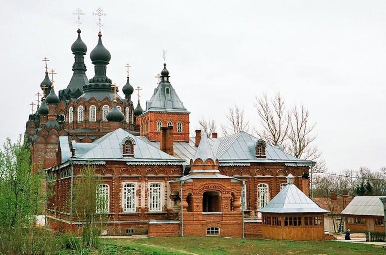 Казанская Амвросиевская пустынь (Шамординский монастырь)