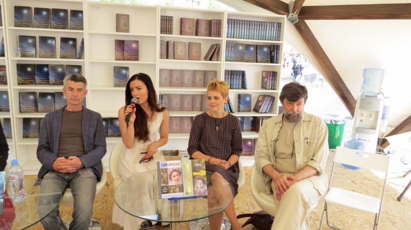 Андрей Рубанов, Алиса Ганиева, Анна сергеева-Клятис, Андрей Петров.