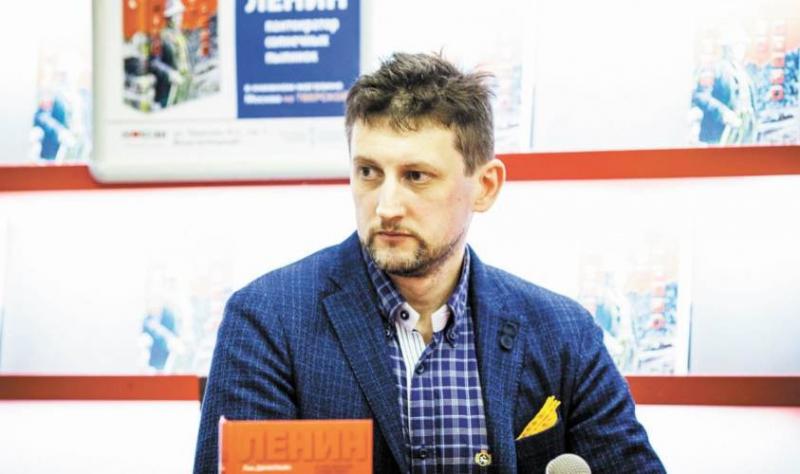 Лев Данилкин – о своей книге «Ленин: Пантократор солнечных пылинок»