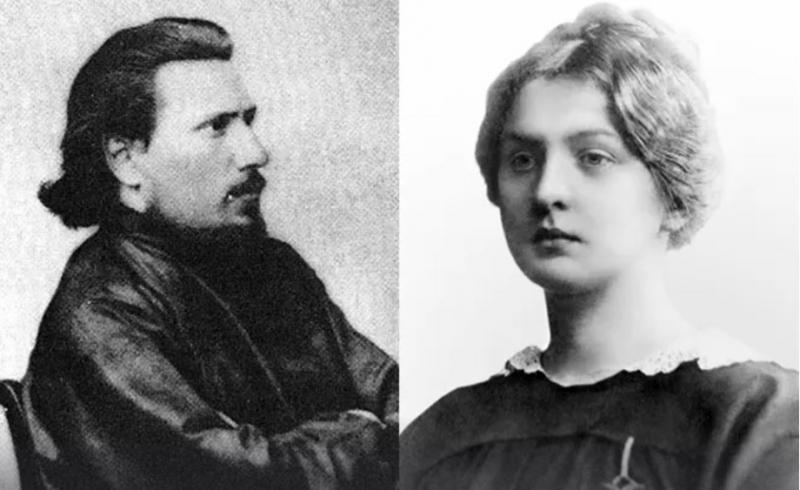 Николай Лесков и Ольга Смирнова