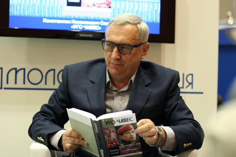 Не осталась в стороне от поздравлений в адрес Шаргунова и Ирина Лукьянова – автор книги «Корней Чуковский»