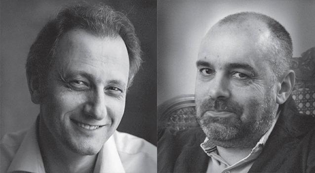 Андрей Колесников и Борис Минаев
