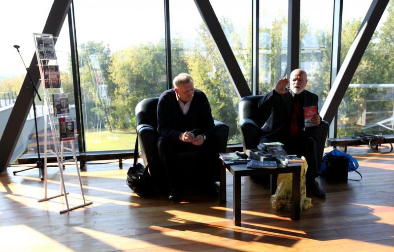 Писатели Игорь Фадеев и Сергей Михеенков рассказывают о своих книгах