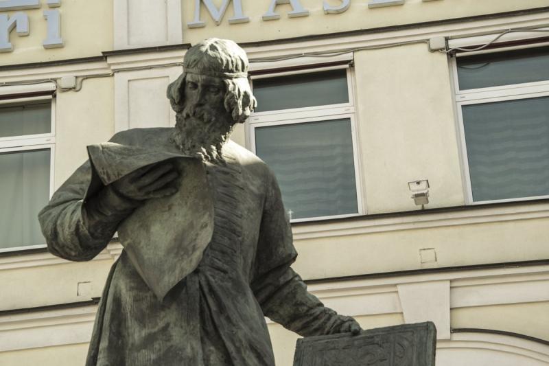 Памятнику первопечатнику Ивану Фёдорову в Москве – 110 лет