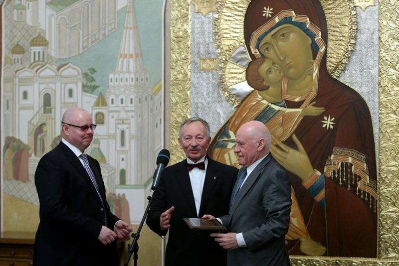 21 декабря в Сергиевском зале Храма Христа Спасителя состоялась церемония награждения лауреатов международной премии «Человек года–2016»