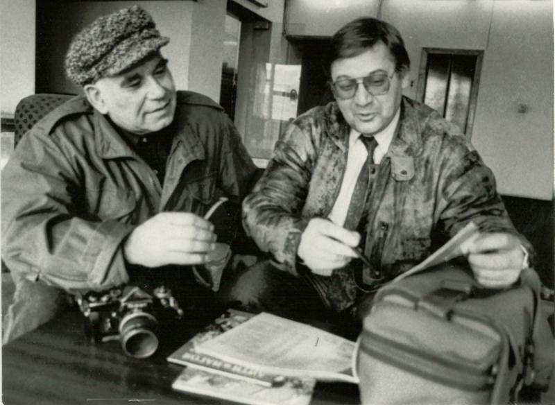 С Василием Песковым