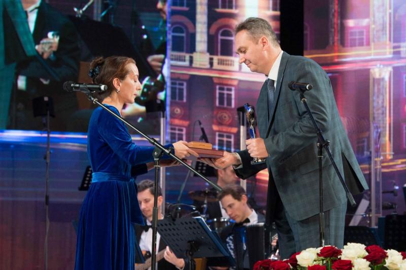 Александр Куланов на вручении литературной премии ФСБ России
