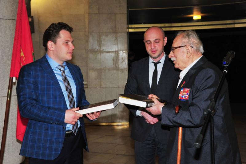 Презентация книги «Владимир Крючков» в Волгограде