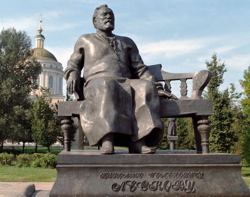 Памятник писателю Николаю Лескову. Фото: РИА Новости