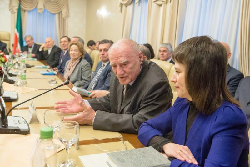 Автор книги, Игорь Цыбульский и Нурсюя Шайдуллина