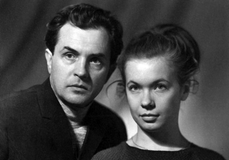 Александр и Ольга Зиновьевы. 1969 год